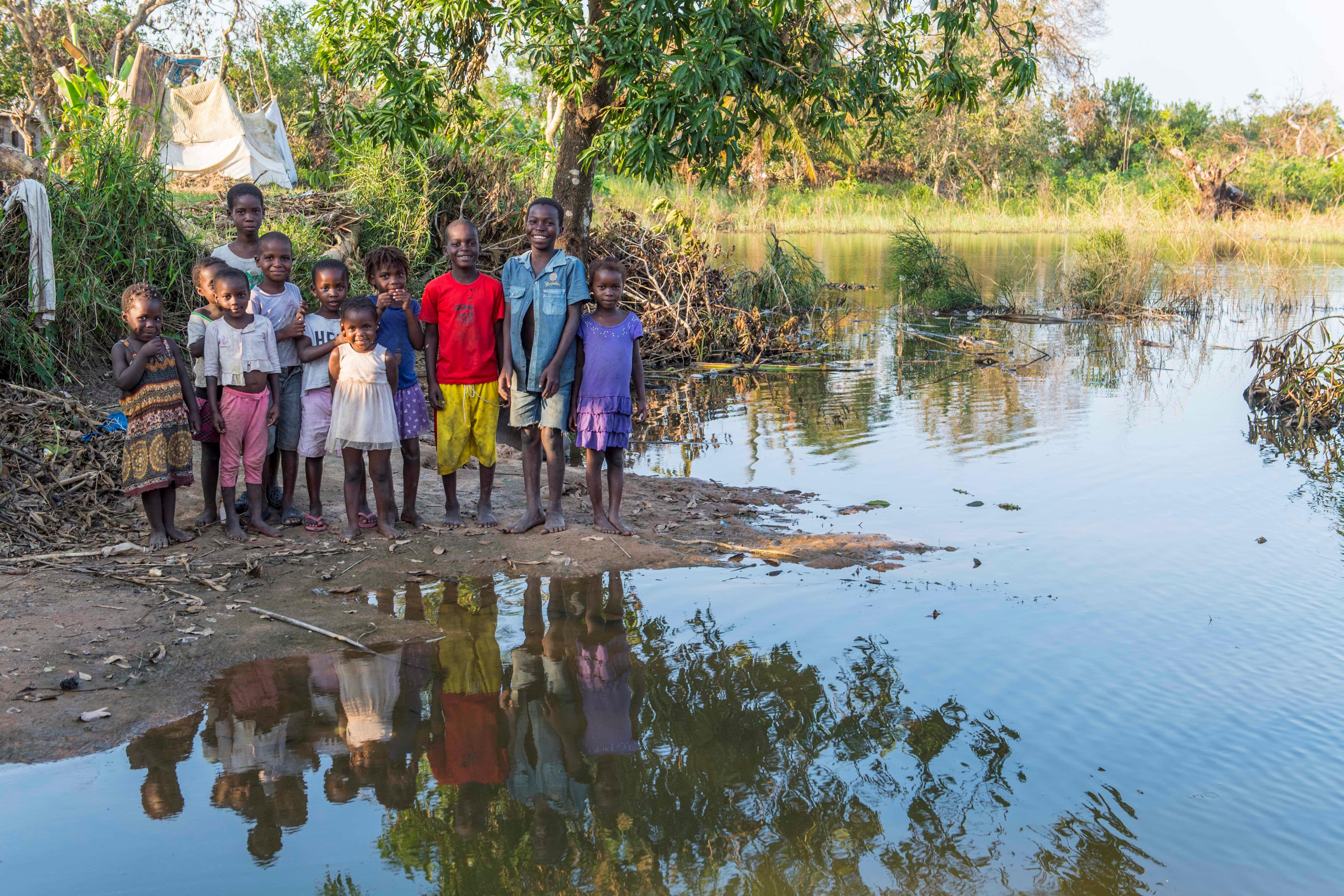 climate-impacted Mozambican children