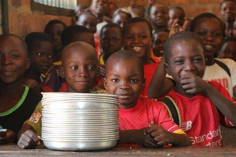 Les repas scolaires donnent le sourire aux enfants de Paoua