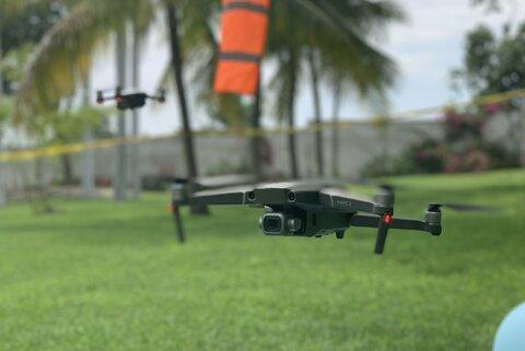 Du haut des airs: les drones et l'action humanitaire en Haïti