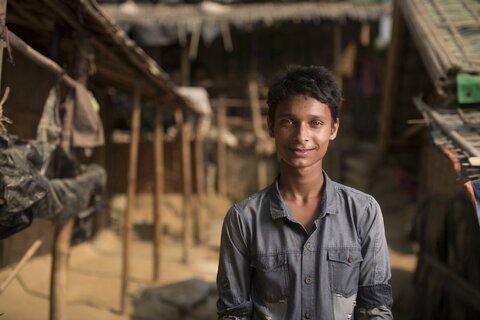 """""""Enfant apatride, je suis un réfugié pris dans une situation difficile"""""""