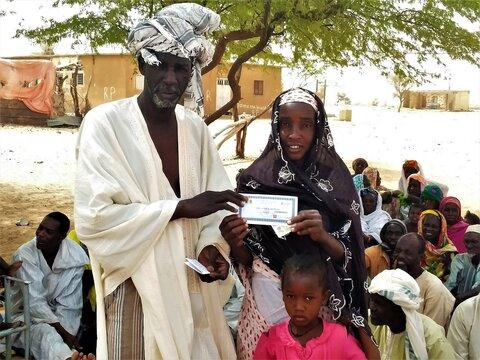 Les bons d'achats alimentaires du PAM, une arme contre l'insécurité alimentaire au nord du Sénégal