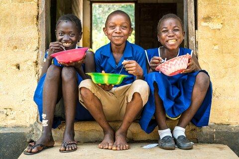 L'importance des cantines scolaires pour Munjama et ses amis