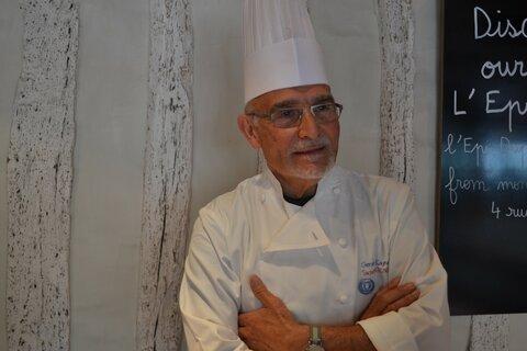 Gérard Cagna,le chef doublement étoilé et sociologue de l'alimentation, s'engage pour #Recipefordisaster