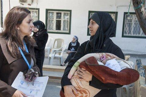 Une grossesse dans de bonnes conditions en Syrie