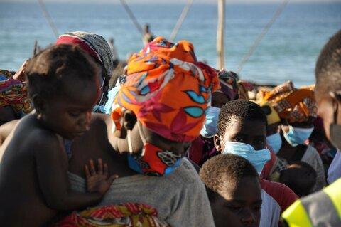Mozambique : le PAM assiste les familles qui fuient le conflit à Cabo Delgado