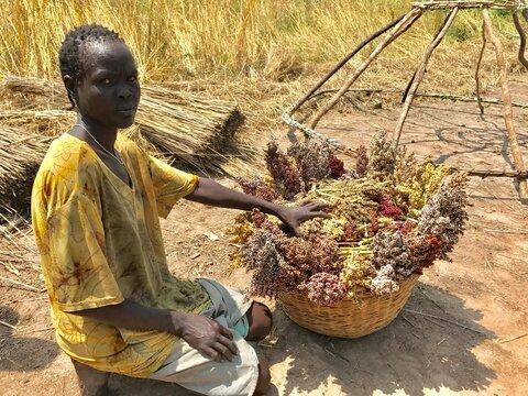 Nyankeich était déterminée à quitter le Soudan du Sud — mais quelque chose l'a fait changer d'avis