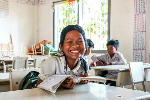 Cambodge : un repas qui donne le sourire