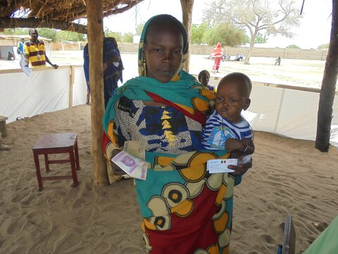 L'Assistance alimentaire par transfert monétaire pour des personnes déplacées dans la région du Lac, Tchad