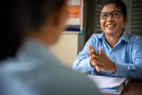 L'alimentation scolaire: un principe pour l'autonomisation des enfants au Cambodge