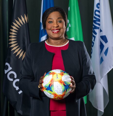 L'alimentation scolaire et la pratique du football sont une évidence pour Fatma Samoura, Secrétaire Générale de la FIFA