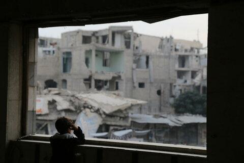 Fenêtre sur la Syrie: un photographe du PAM revient sur une décennie de conflit
