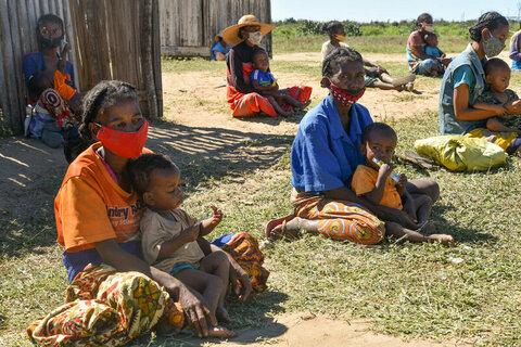 """Madagascar: """"Les enfants ne courent et ne jouent pas - dans leurs yeux, une profonde tristesse"""""""