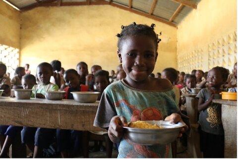 Les repas scolaires soutenus par le PAM favorisent l'inclusion sociale des peuples autochtones