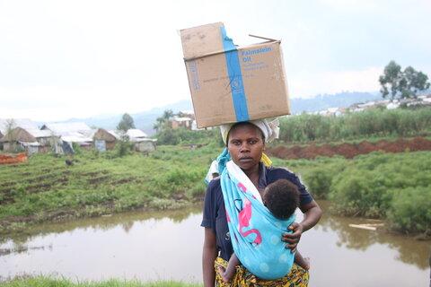 Du fufu et des haricots frits : récits de difficultés et de force d'esprit en République Démocratique du Congo