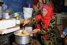 L'Union européenne soutient les actions du PAM auprès des familles touchées par le conflit en Syrie