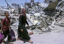 Le PAM fournit un soutien immédiat aux familles touchées par l'urgence à Gaza