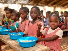 Le PAM salue le soutien constant du Japon dans ses  opérations intégrées de renforcement de la résilience des populations vulnérables en Guinée