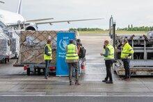 COVID-19 : les livraisons humanitaires aériennes vers l'Afrique s'intensifient grâce à la nouvelle plate-forme de fret de l'ONU en Belgique
