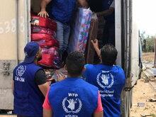Communiqué de presse conjoint OIM–PAM : selon un nouveau rapport de l'ONU, le coronavirus pourrait pousser davantage de personnes à quitter leurs foyers alors que la faim progresse dans les communautés de migrants et de personnes déplacées.