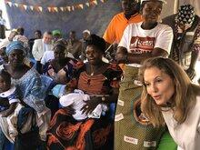 La conseillère spéciale du PAM S.A.R la Princesse Sarah Zeid plaide en faveur de la nutrition au Tchad