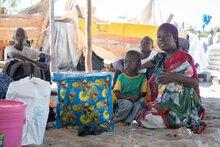 La crise des déplacements de population au Nord du Mozambique fait grimper les taux de la faim alors que les familles fuient les violences