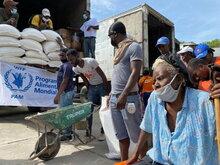 Le PAM renforce son soutien aux haïtiens dont la sécurité alimentaire a été fragilisée par le séisme