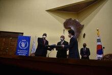 La Corée du sud et le PAM apportent un soutien nutritionnel à 51 000 personnes dans le sud de Madagascar