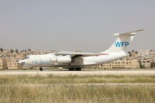 Service du transport aérien du PAM en Syrie 2016
