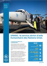 UNHAS : l'aviation au service de l'humanitaire