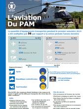 Aviation du PAM - Aperçu des opérations Janvier-Juin 2014