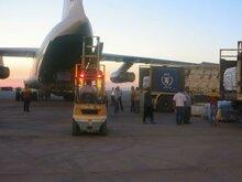 Service du transport aérien du PAM Syrie 2016