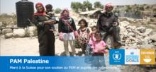 La Suisse soutient le PAM en Palestine