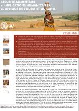 La sécurité alimentaire en Afrique de l'Ouest et au Sahel