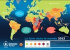 Carte de la faim dans le monde 2013