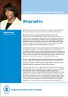 La biographie d'Ertharin Cousin, Directrice exécutive du PAM