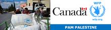 Merci au Canada pour son soutien au PAM et auprès des Palestiniens