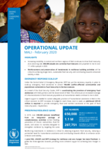 OPERATIONAL UPDATE MALI - February 2020