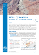 SATELLITE IMAGERY - TO SUPPORT WFP EMERGENCY RESPONSE