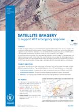 Imagerie satellitaire pour appuyer la réponse d'urgence au Mali