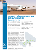 Le service aérien humanitaire des Nations Unies