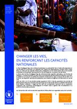 Changer les vies, en renforcant les capacités nationales