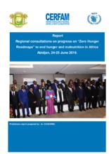 Rapport de la concertation sur la Faim Zéro-Abidjan-Juin 2019