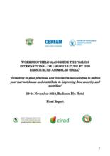 Rapport de l'atelier sur les pertes après-récoltes - Abidjan - Novembre 2019