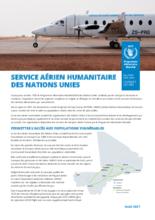 UNHAS : Le service aérien humanitaire des Nations Unies au Mali