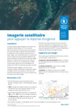 Mali - Imagerie satellitaire pour appuyer la réponse d'urgence