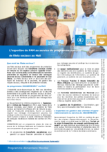 2017 -  Innovations  -  WFP Mali